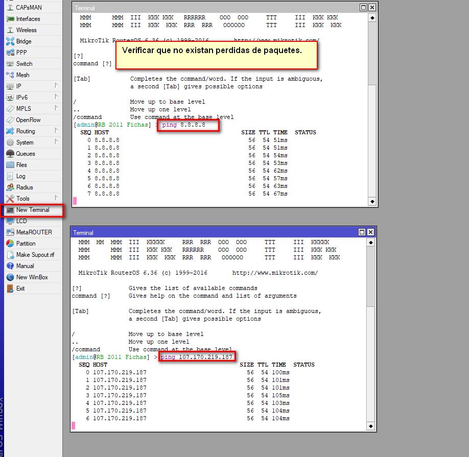 RouterBoard Excedio tiempo de respuesta - WispHub net