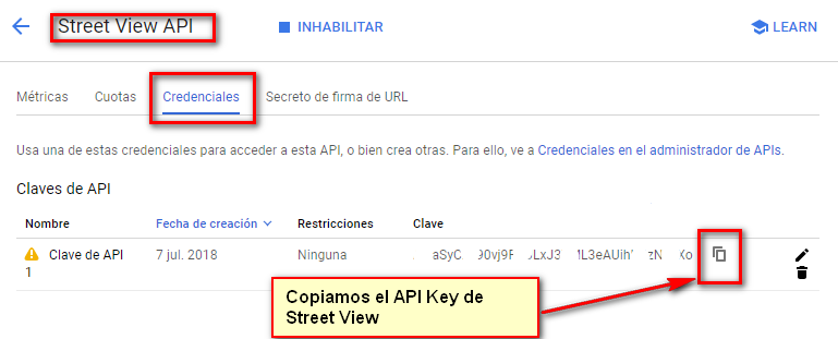 Copiar Street View API